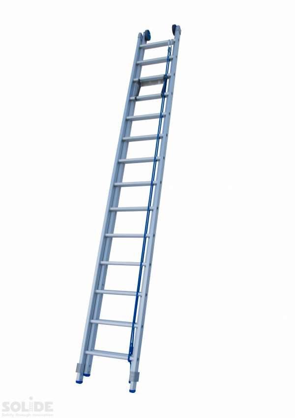 2-Delige Schuif ladder met touw