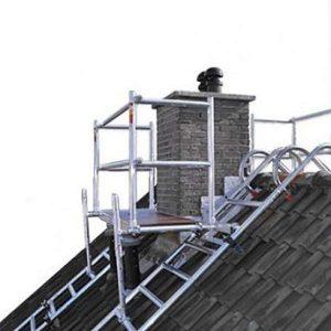 Daksteiger en schoorsteensteiger compleet