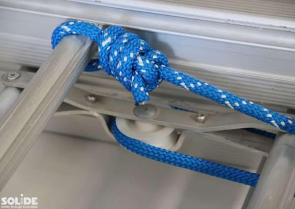 3-Delige Schuifladder met touw