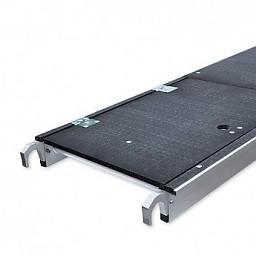 Fiberdeck platform met luik
