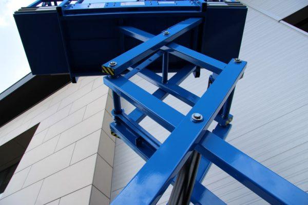 Schaarlift hoogwerker 8 meter werkhoogte