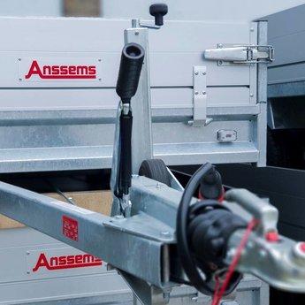 Anssems PSX2000 +Extrusie rolsteiger 135x250x8.2m werkhoogte