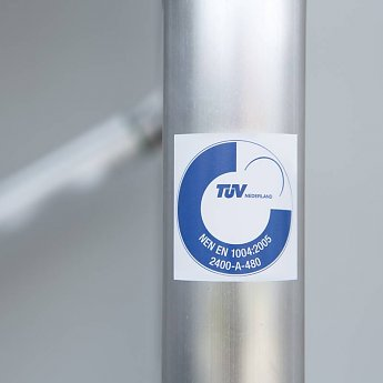 euroscaffold rolsteiger TUV gekeurd